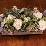 Floral Crate Centerpiece
