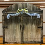 Rustic Barn Door Backdrop