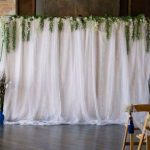 Wisteria Wedding Backdrop