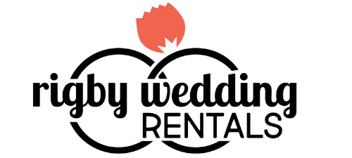 logo rigby wedding rentals