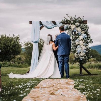 wedding backdrop rentals Rigby